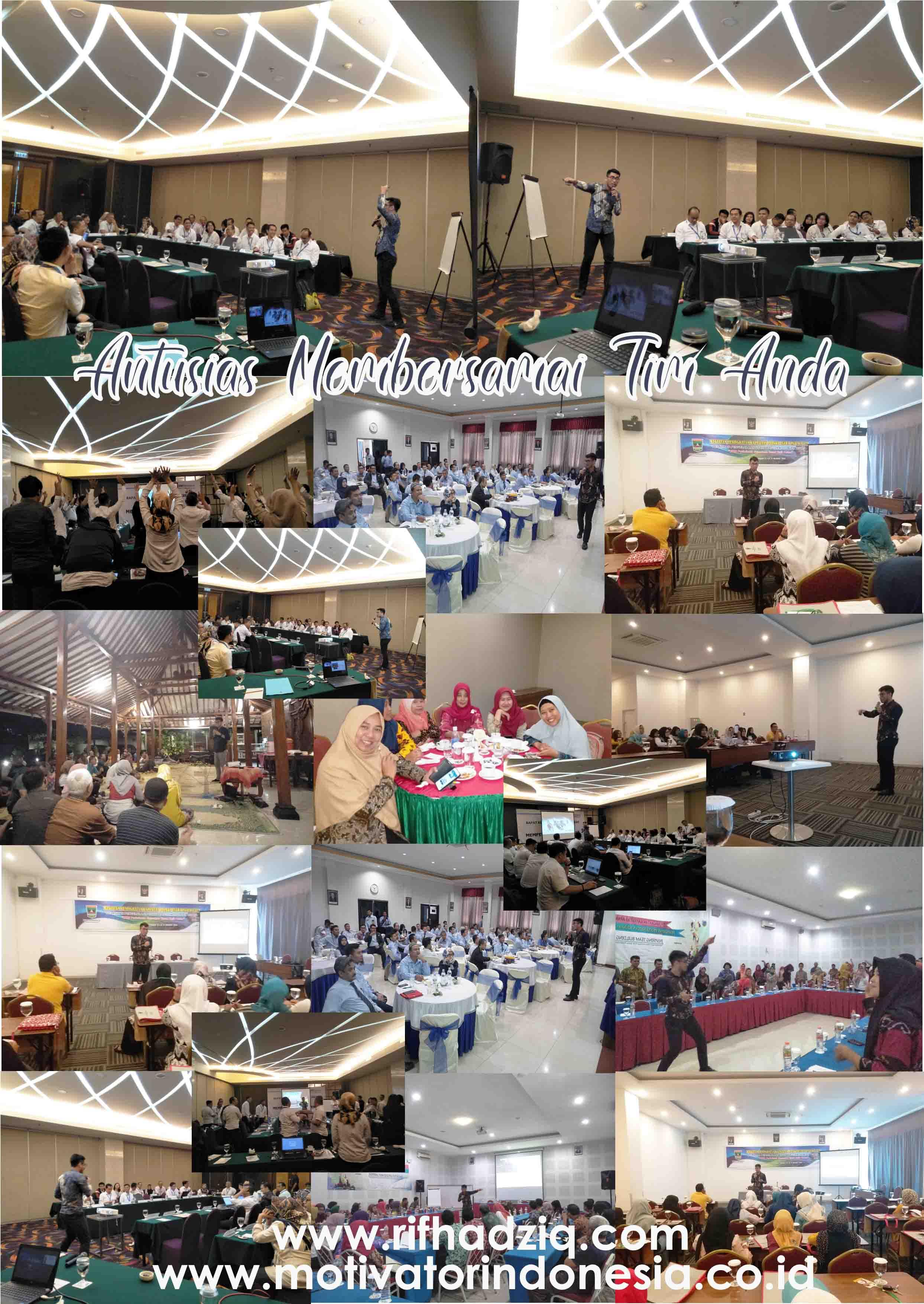 motivator indonesia, motivator perusahaan, rifqi hadziq, rif hadziq, motivator karyawan, bigbi antusias, training motivasi jakarta, training motivasi surabaya