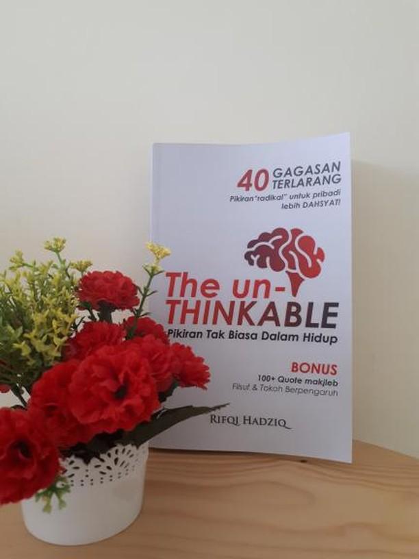 buku the unthinakble, buku rifqi hadziq, motivator bali