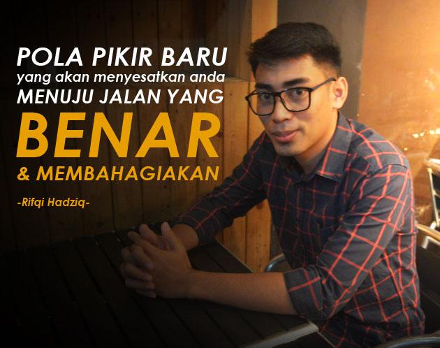 rifqi hadziq, rif hadziq, motivator indonesia, motivator karyawan, motivator perusahaan, training motivasi jakarta, training motivasi surabaya, motivator jakarta, trainer motivasi, pembicara motivasi