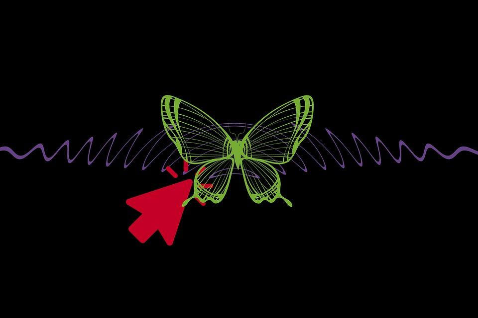 Butterfly Effect Yang Wow, teori efek kupu-kupu, teori butterfly effect