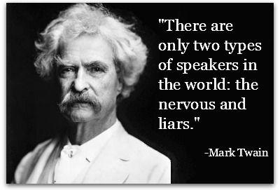 Ini Dua Tipe Pembicara Menurut Mark Twain